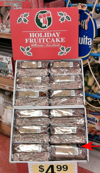 fruitcakes at King Soopers