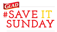 Glad Save it Sunday