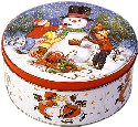 Christmas Tin Box