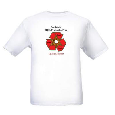 Fruitcake Free T-shirt
