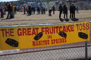 fruitcake toss